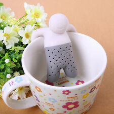 New Silicone Infuser Loose Tea Leaf Strainer Herbal Spice Filter Diffuser New