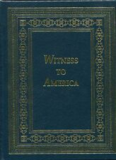Witness to America by Stephen Ambrose & D. Brinkley- Easton Press leather bound