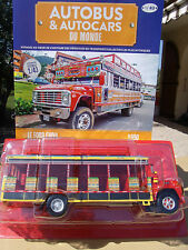 n° 43 FORD CHIVA Bus COLOMBIE Autobus et Autocar du Monde an. 1990 1/43 New/box