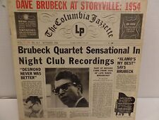 Dave Brubeck At Storyville 1954 Columbia CL-590 VG- 071416DBE