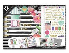 NEW Create 365 The Happy Planner 12 Month Box Kit, Best Year Ever/Stripes