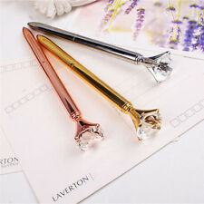 Hot! Party Crystal Diamond Head Crystal Ball Pen Creative Pen Korea Creative Pen