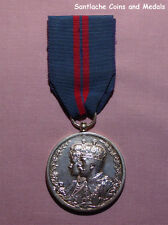 1911 OFFICIAL KING GEORGE V DELHI DURBAR MEDAL IN SILVER
