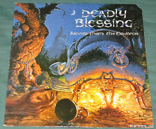 Deadly Blessing Ascend From The Cauldron LP 1988 NJ Thrash Doro Pesch NM VINYL!!
