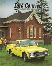 Ford Courier Pick-Up 1973 USA Market Foldout Sales Brochure
