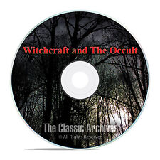 400 Witchcraft, Witch, Witches, Occult, Magic, Demonology Books Library DVD F48