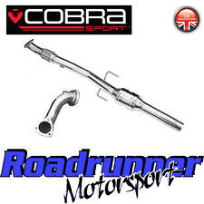 "Cobra Sport Corsa D SRI De-Cat Downpipe & Sports Cat Pipe Exhaust 2.5"" (10-14)"