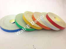 Radium Reflective sticker roll (set of 6 colors roll) 6mm X 7.5 meter each