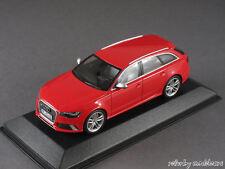 1/43 Minichamps Audi RS6 Avant (C7) 2013 - rot - 141281