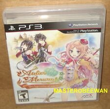 Atelier Meruru: The Apprentice of Arland New Sealed (Sony PlayStation 3, 2012)