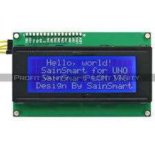 SainSmart IIC/I2C/TWI Serial 2004 20x4 LCD Module Shield For Arduino UNO MEGA R3