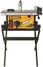 """NEW DEWALT DWE7490X 10 INCH PORTABLE COMPACT TABLE SAW 24"""" RIP 15 AMP WITH BLADE"""