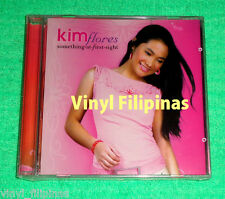 PHILIPPINES: KIM FLORES - Something At First Sight CD ALBUM,OPM,Tagalog,Teen Pop