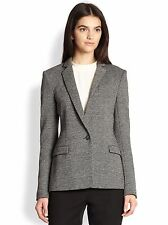 NWT Theory Dancey K Kenmore Suit Jacket Black White $425 – Size 10