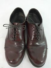 HUSH PUPPIES MENS BROWN LEATHER OXFORDS DRESS SHOES SIZE 8.5 M