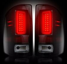 RECON Smoked LED Tail Lights 2014-2016 GMC Sierra 1500/2500/3500