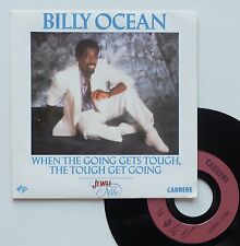 """Vinyle 45T Billy Ocean """"When the going gets tough, the touch get going"""""""