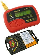 Peak Atlas IT RJ45 Cat5 Cat5e Cat6 Ethernet Network Cable Analyser Tester UTP05