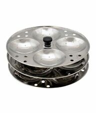 RECO 100% S .STEEL,SOUTH INDIAN DISH IDLI MAKER.IDLI STAND,,3 PIECE STAND