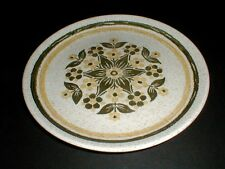 Biltons England Stoneware Green White Yellow Floral Dinner Plate/s (loc-H12)