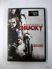 LA MALEDIZIONE DI CHUCKY Dvd Video Universal Film Horror Nuovo Sigillato New