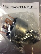 TAKEUCHI IGNITION SWITCH #1700100023 - OEM - READ DESCRIPTION