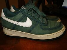 VINTAGE Nike Air Force 1 Low  shoes Canvas  MADE IN CHINA  1994 Sz 7 MENS