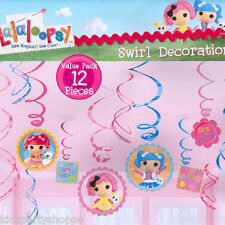 LALALOOPSY Hanging SWIRLS Danglers Birthday Party Supplies Decorations