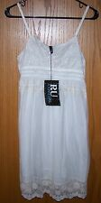 RU Cowgirl by Resistol NWT Pinot Chic White/Ivory Lace Dress, Size L