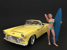 SURFER PARIS FIGURE FOR 1:18 DIECAST MODEL CARS BY AMERICAN DIORAMA 77440