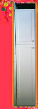 Flat Pack Kitchen Cabinets Matt White Shaker Broom Cupboards Pantry 600