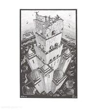 MC Escher Turm von Babel Poster Kunstdruck Bild 65x55cm