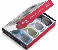 LG AG-F315 - 4 Pack of Passive 3D Glasses for LG Cinema 3D TV - Party Pack