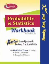 Probability and Statistics Workbook Mathematics Learning and Practice