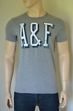 NEW Abercrombie & Fitch Ampersand Mountain Grey A&F Graphic Tee T-Shirt XXL