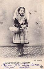 LIMOUSIN souvenir du bébé barbichet timbrée 1902