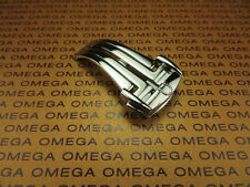 New 16mm OMEGA Stainless Polish Deployment Buckle Speedmaster 16 mm Clasp x1