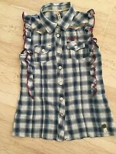 PEPE JEANS: RAVISSANTE CHEMISE FILLE TAILLE 10 ANS ESPRIT COW-GIRL !