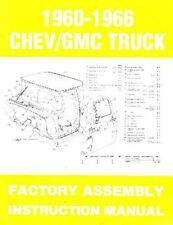 1960 1961 1962 1963 1964 1965 1966 Chevrolet Truck Assembly Manual