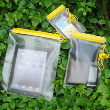 3Pcs Waterproof Camera Mobile Phone Pouch Dry Bag PVC Case Kayak Boat Fishing