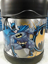BATMAN: THERMOS THERMAX FUNTAINER BATMAN 10 OUNCE FOOD JAR - 63488