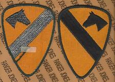 US Army 1st Cavalry Division uniform 5 inch SSI shoulder patch AG green m/e