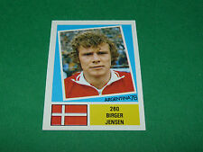 260 BIRGER JENSEN DANEMARK AGEDUCATIFS FOOTBALL ARGENTINA 78 WM 1978 PANINI