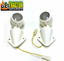 Pair of Fordson Major Rear Mudguard Lights