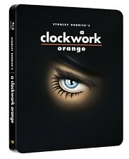 A Clockwork Orange Steelbook Blu Ray (Region Free A,B,C)