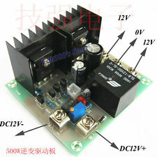 500W Driver Drive Board For DC 12V To AC  220V 230V Inverter Cord Transformer