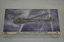 Hasegawa 01999 1/72 Junkers Ju 88A-8 with Balloon Cable Cutter