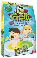 GELLI BAFF Colour Change Bath Fun Goo Yellow to Green Bath Fun Jelly