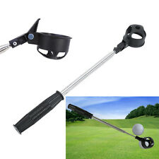 Portable Stainless Steel Shaft Scoop Telescopic Golf Ball Retriever Pick Up Tool
