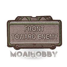 MILSPEC MONKEY Morale Patch Front Toward Enemy MULTICAM